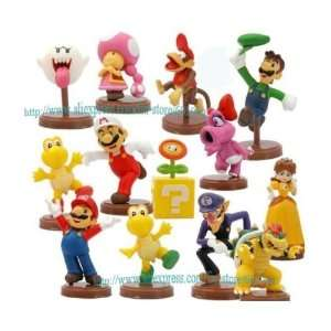 mario bros luigi action figures f/ xmas gift #1 whole Toys & Games
