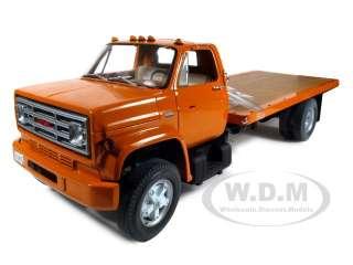 1975 gmc sierra 6500 series flatbed truck orange 116. Black Bedroom Furniture Sets. Home Design Ideas