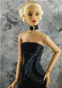 Tonner Doll Jewelry  ANTOINETTE EVANGELINE Magnetic Clasp Crystal