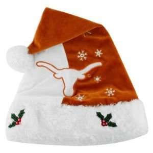 Texas Longhorns 2011 Team Logo Santa Hat