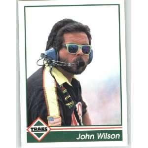 John Wilson   NASCAR Trading Cards (Racing Cards)
