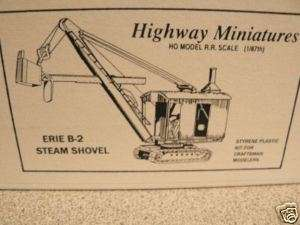 Jordan HO #360 303 Erie B 2 Steam Shovel (Nice Kit)