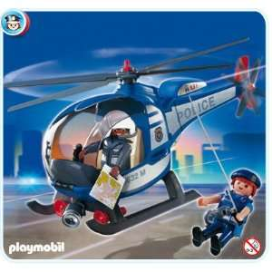 Playmobil Police Copter: Toys & Games