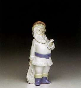 Lladro #5842 ~ Santa Claus Ornament ~ Mint With Box
