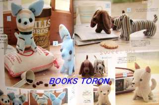 Stuffies   Small Pretty Doll & Animals/Japanese Craft Pattern Book/i18