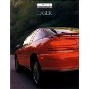 1993 PLYMOUTH LASER Sales Brochure Literature Book