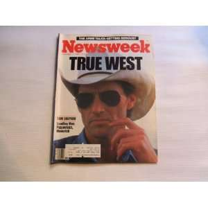 Newsweek November 11, 1985 True West Sam Shepard Leading