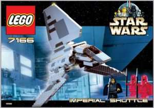 Lego Star Wars Imperial Shuttle 7166 5702012012570