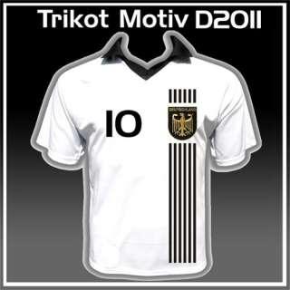 TRIKOT  DEUTSCHLAND Fußball STARS  T Shirt #D01 NEU&OVP 4250776800014