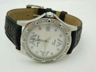 Womens Tango 5590 Diamond White Mother Of Pearl Dial Quartz Watch
