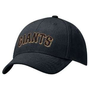 Nike San Francisco Giants Black Swoosh Flex Fit Hat