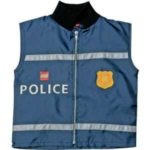LEGO SPECIAL AGENT Lego City Police Vest   Size 3 5Y   Item # 4293811