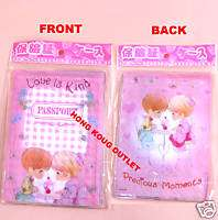 Precious moments passport Holder Cover Card Holder H31g