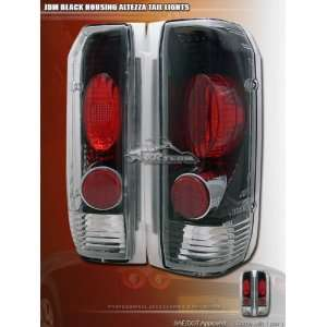 Ford F150 Tail Lights JDM Black Taillights 1989 1990 1991