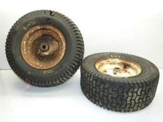 Bolens H16XL Tractor Carlisle 16x6.50 8 Front Tires & Rims
