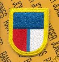 SOCPAC Spec Ops Pacific Airborne beret Flash patch E