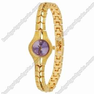 Fashionable Bracelet Ladies Lady Wrist Watch gift gold