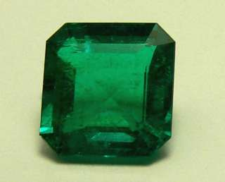 03 CTS NATURAL COLOMBIAN EMERALD CUT