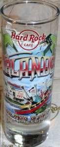Hard Rock Cafe ORLANDO 2010 City TEE T Shirt SHOT GLASS