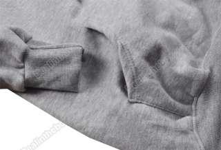 Korean Deer Printing Jacket Sweatshirt Cotton Coat tops