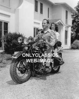 KEENAN WYNN HARLEY DAVIDSON MOTORCYCLE  HOLLYWOOD PHOTO