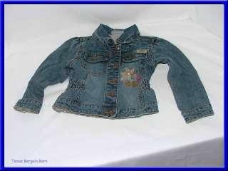 LEVI STRAUSS SIGNATURE JACKET ~ Blue Jean/Girls Size 2T