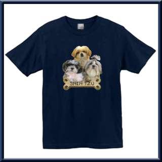 Shih Tzu Puppies Bone Dog Breed Shirt S XL,2X,3X,4X,5X