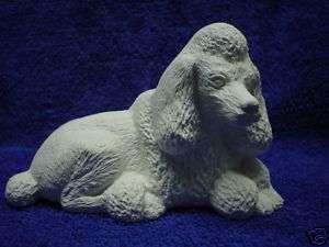 C099 Ceramic Bisque Poodle Dog (Nowells)