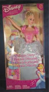 Collectible Disney Cinderella Princess Party Barbie Size Doll Mattel