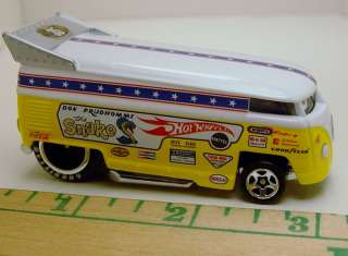 HOT WHEELS SNAKE VW VOLKSWAGEN DRAG BUS RARE ITEM!