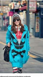NEW OVERSIZED SKULL SWEATER SWEATSHIRT EUROPEAN KOREAN JAPAN FASHION