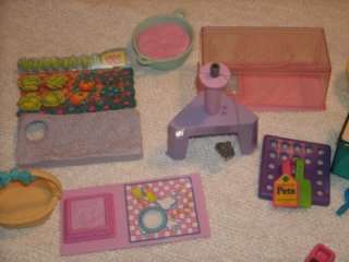 VINTAGE KENNER 1992 LITTLEST PET SHOPS PETS & ACCESSORIES