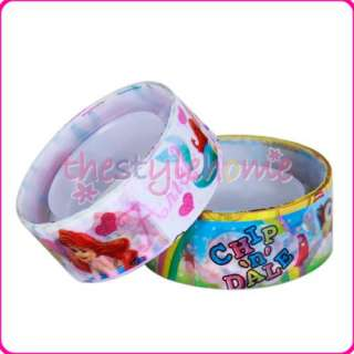 Kids gift 10 Rolls Cartoon Design Adhesive Tape Sticker