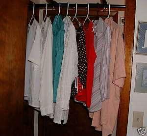 Lot 8 NICE shirts Worthington R&K Originals Koret Como