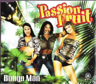 Passion Fruit Bongo Man Original Maxi CD