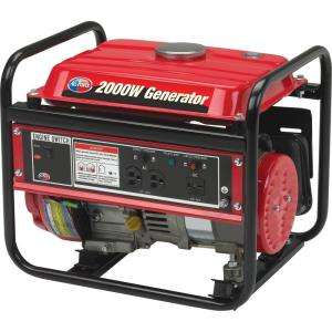 All Power 2000 Watt 3 HP Portable Generator Open Frame APG3014 at The