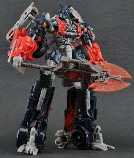 NEW Transformers Dark Of The Moon Voyager class Fireburst OPTIMUS