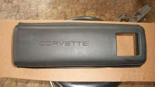 C4 Corvette Right Lower Dash Pad Crash Pad Knee Bolster Filler