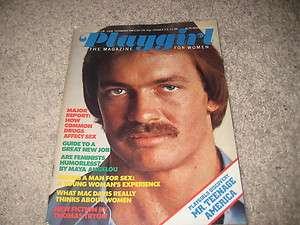 PLAYGIRL MAGAZINE NOVEMBER 1975 JIM GLASGOW MINT RARE