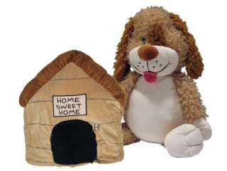 NEW Dog to Dog House HAPPY NAPPER PLAY PILLOW w/sound