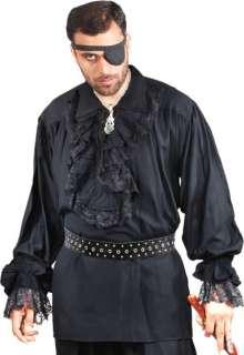 Renaissance Gothic Pirate Medieval Cofres Shirt