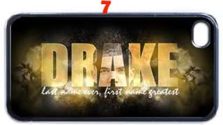 Drake Drizzy iPhone 4 4s Hard Case Black