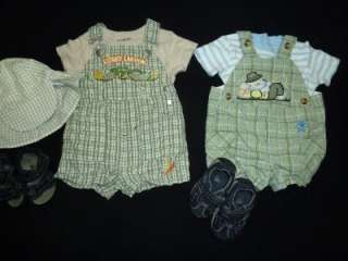 50pc BABY BOY 6 9 & 9 MONTHS SPRING SUMMER OUTFIT CLOTHES LOT TODDLER