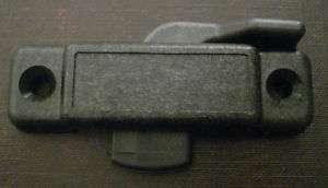 Universal Window Sash Lock   Black 3/8 latch