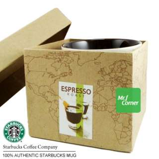 star363 10oz starbucks brown Espresso Roast Beans travel cup mug box