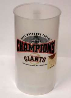 San Francisco Giants Baseball World Series 2002 Commemorative Mug T