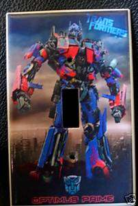 Transformers *OPTIMUS PRIME* LIGHT SWITCH COVER Look