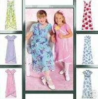 Girls Summer Dress 10 14 Pattern McCalls 4361 OOP