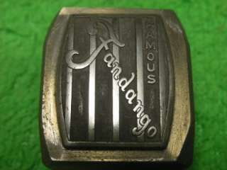 FAMOUS FANDANGO LOGO PUNCH STAMP PRESS DIE SET TOOL