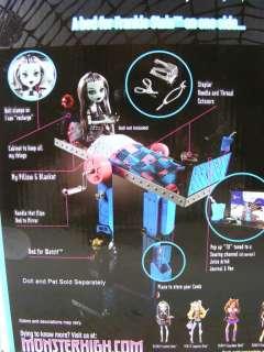 Monster High Frankie Stein MIRROR BED Doll Furniture